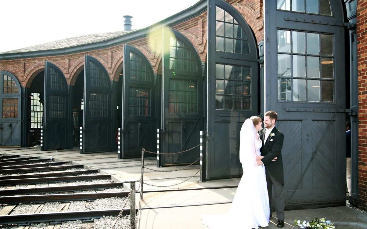 Rob and Jessica Wedding   Greenfield Village   Detroit, MI