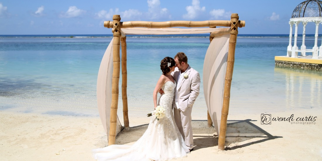 Zak And Christen Destination Wedding Montego Bay Jamaica Sandals Resort
