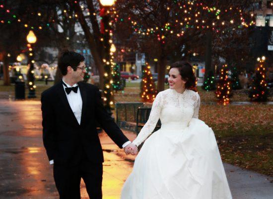 Seth and Jenna Wedding | Rose St. Market | Kalamazoo, MI