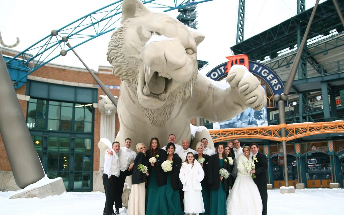 Tom and Katie Wedding   Greektown Casino   Detroit,  MI
