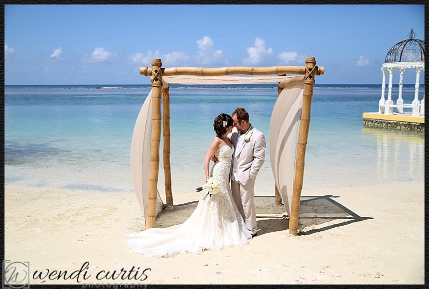 Destination Wedding In Montego Bay Jamaica At Sandals Royal Caribbean Resort